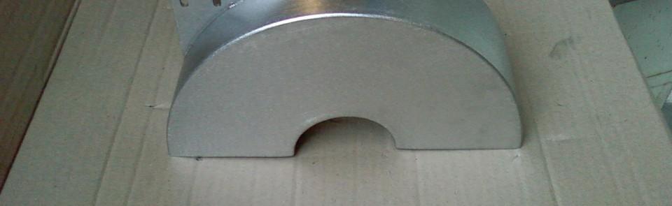 Goulotte de distribution en inox